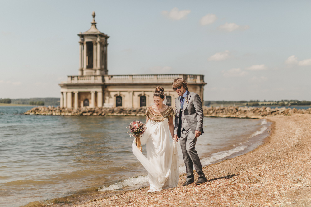 Rutland wedding photographer photo of Normanton Church Rutland