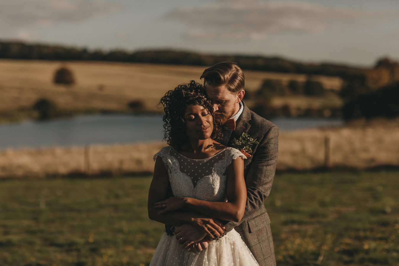Fort Henry wedding Rutland at Exton Park wedding photography with bride and groom