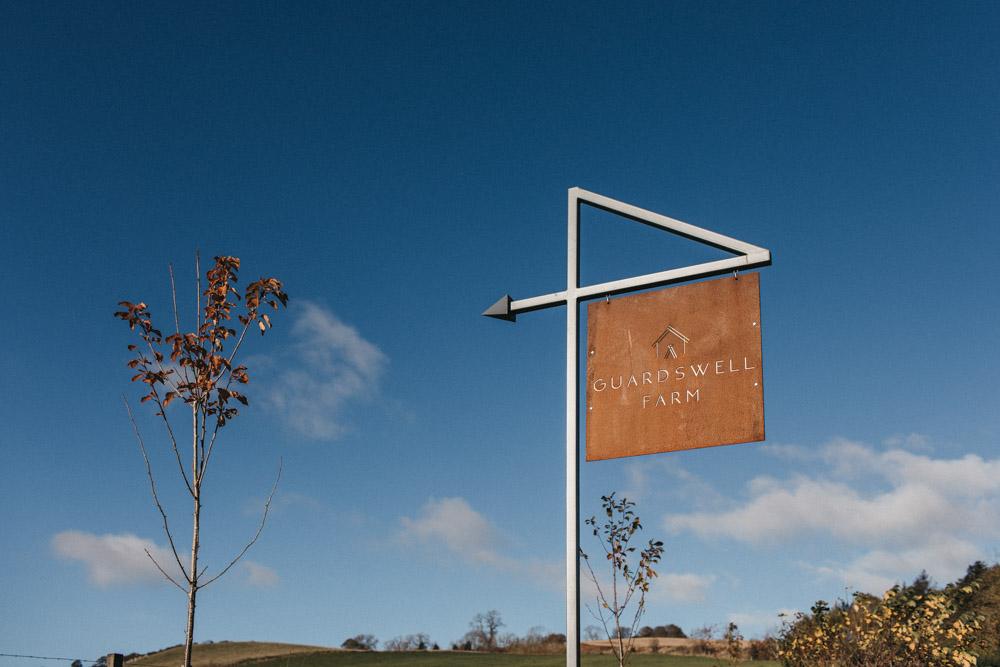 Guardswell Farm sign