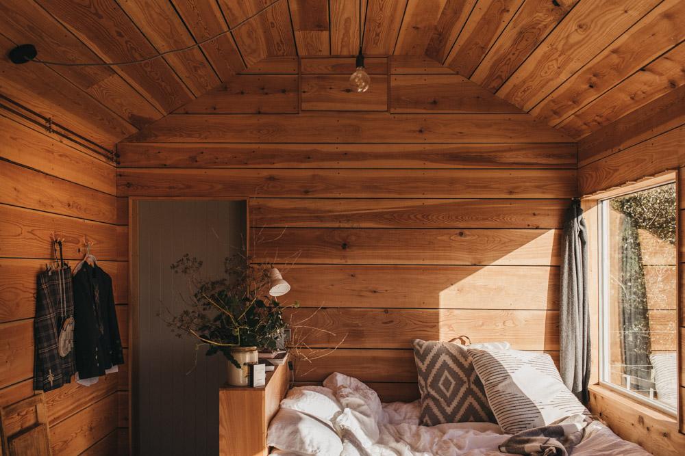 cabin in Scotland