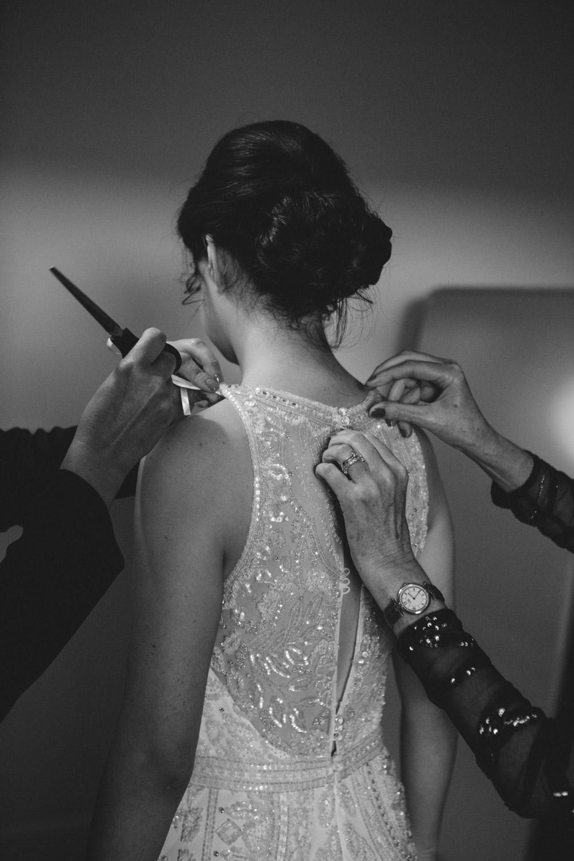 Eleganza Sposa bride in dress