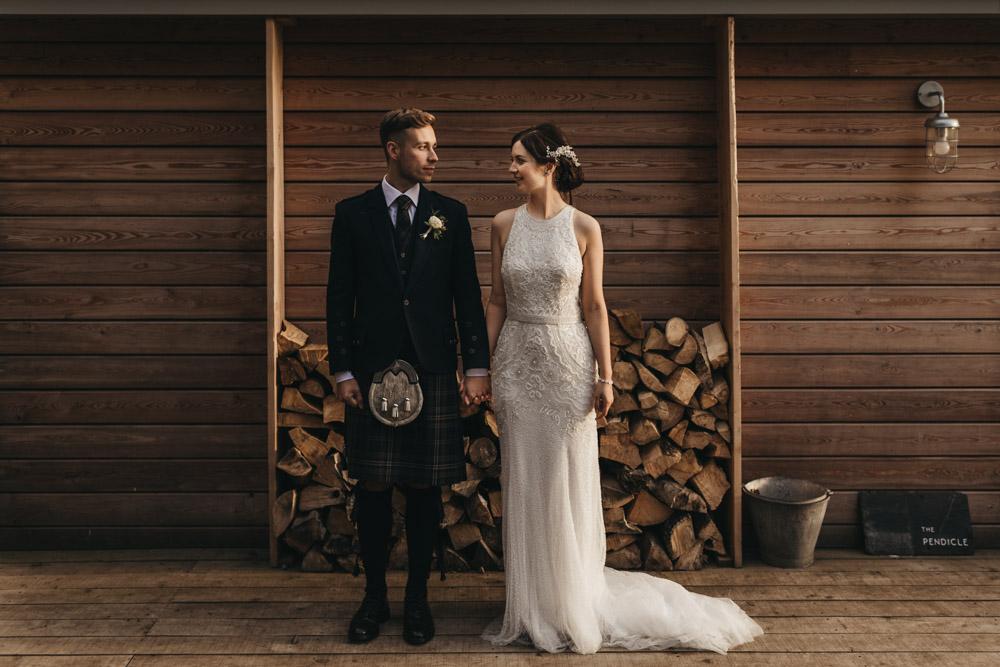 humanist wedding day couple shoot