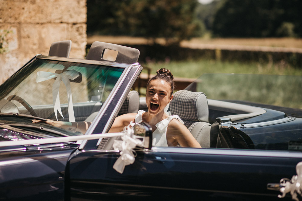 Just married in France