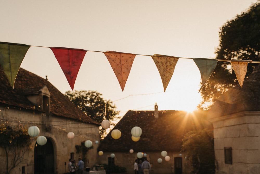 La Leotardie wedding in France